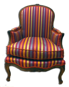 fauteuil bergere-rayure 12